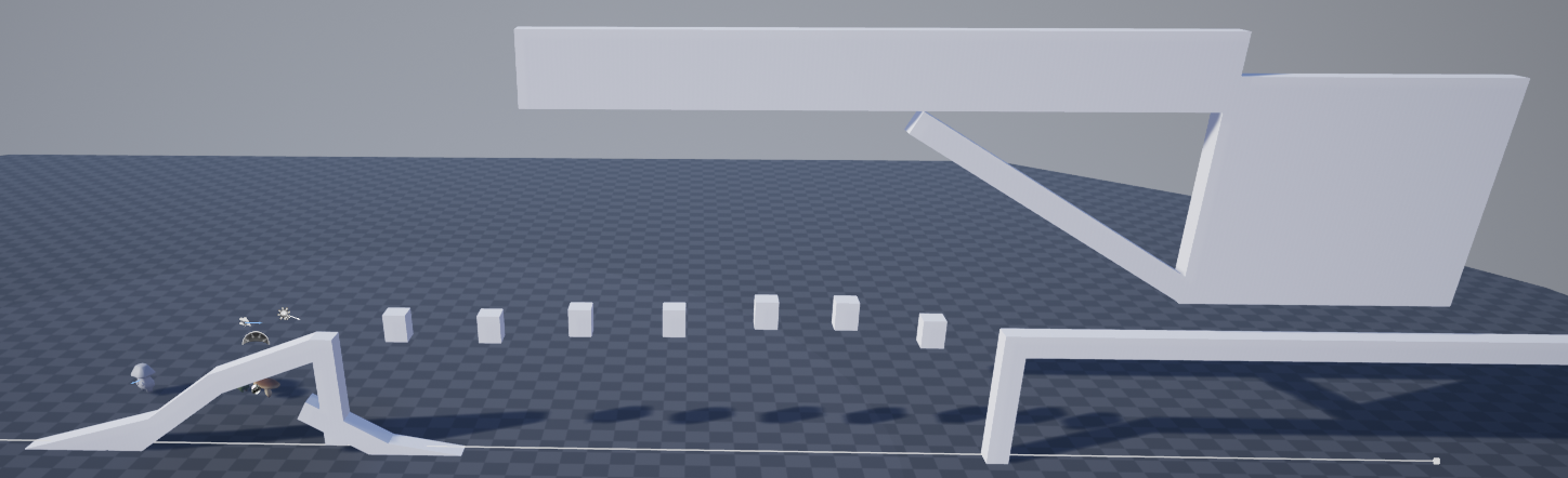 Fig 8 -  Obstacle that teaches the player about changing size