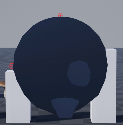 Fig 18 -  Belly can get stuck in platforms that are different heights