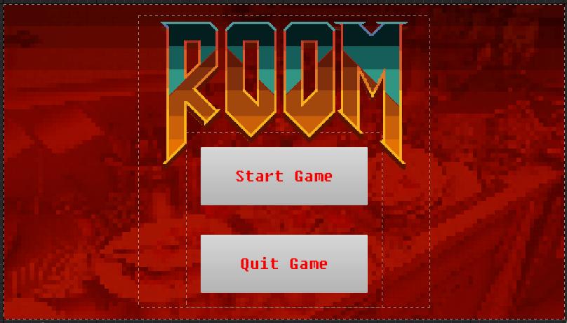 Fig 17 -  Initial Room main menu