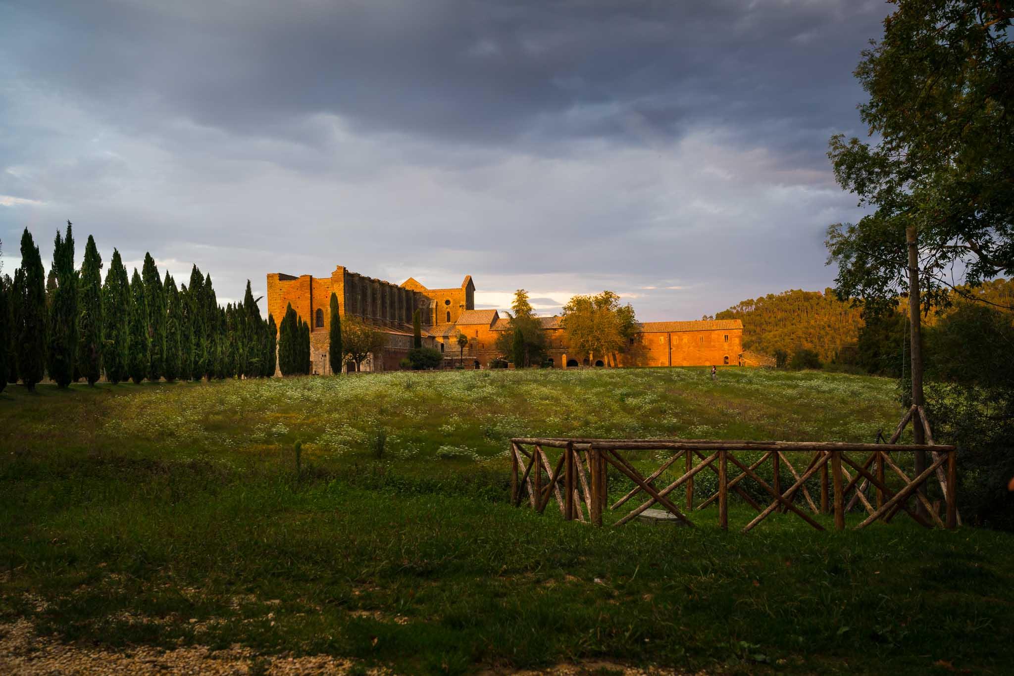 The beautiful Abbey of San Galgano