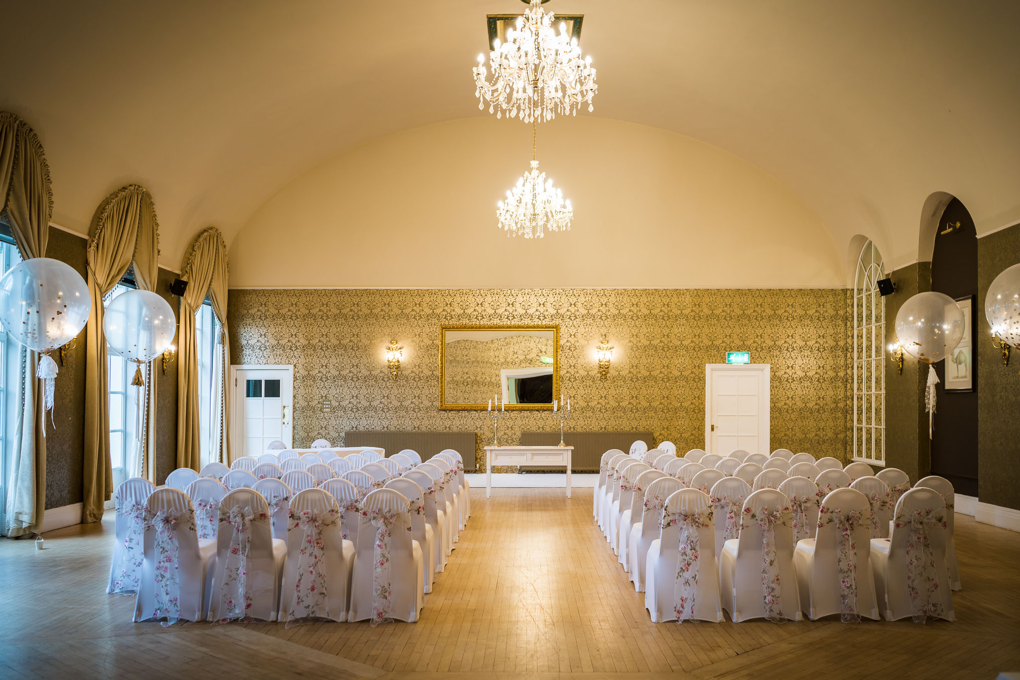 Clifton Pavilion - a very special ceremony room