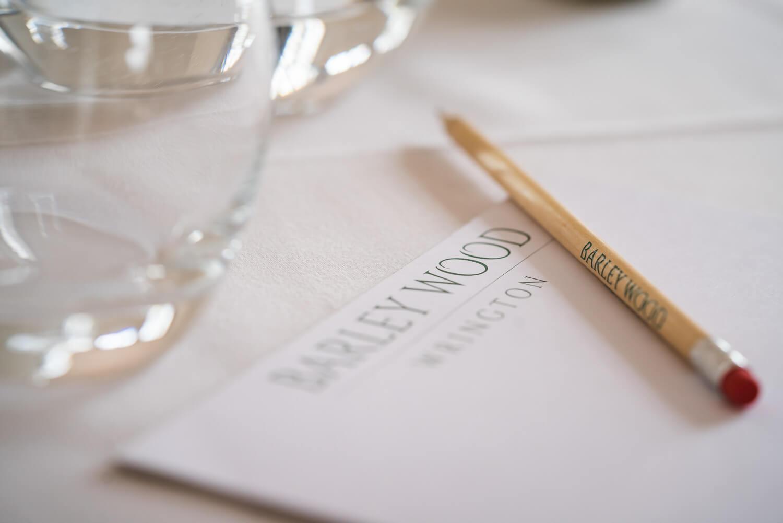 Barley Wood, Somerset Wedding Photography Conference Setup