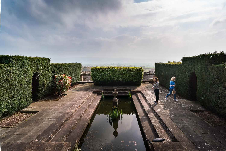 Barley Wood, Somerset Wedding Photography, Pond