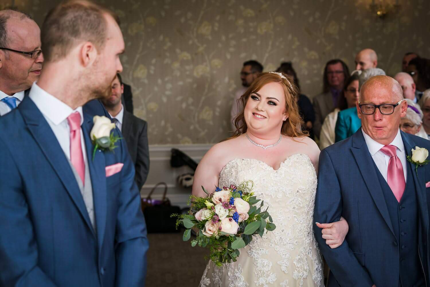 Somerset wedding photography, Somerset wedding photographer, clevedon hall, bride, ceremony
