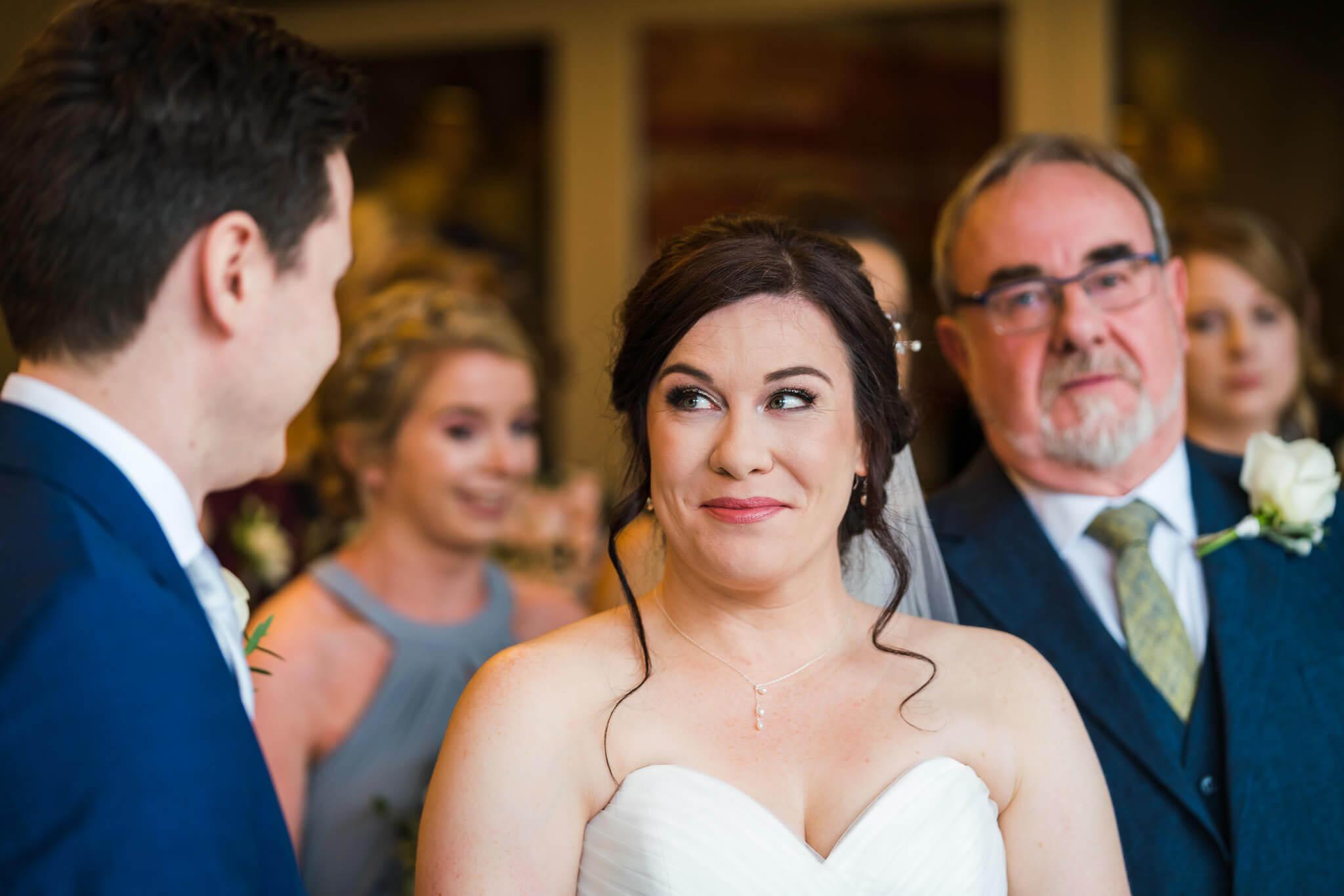 Bath Wedding Photographer, Homewood Park Wedding Photography, Bride and groom first look