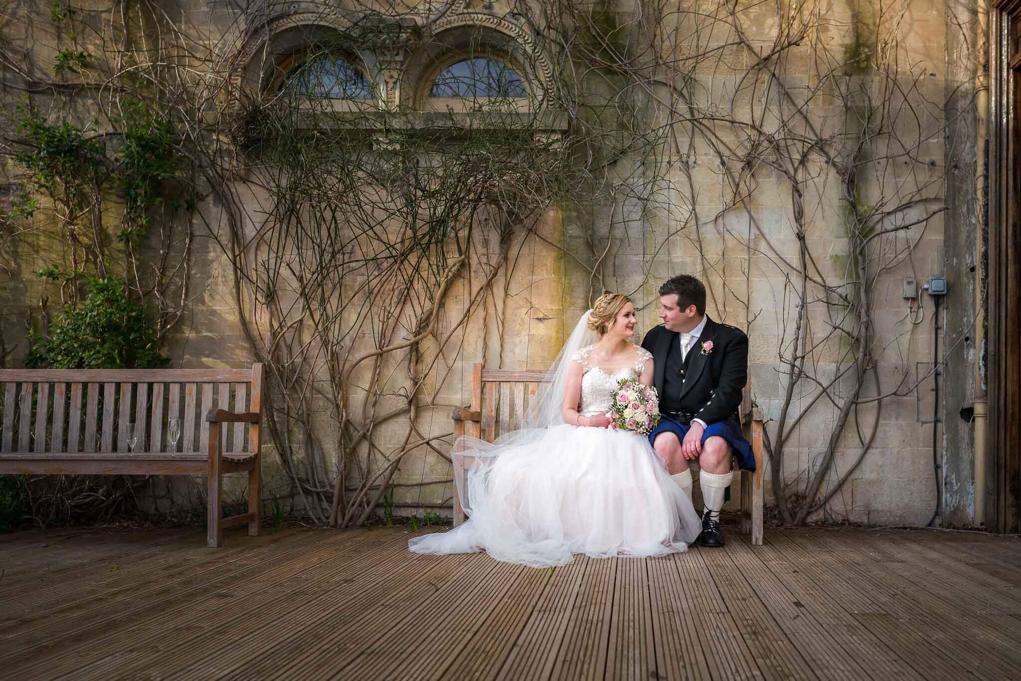 Somerset Wedding Photographer, Orchardleigh Estate Wedding Photography, Wedding couple in sunlight