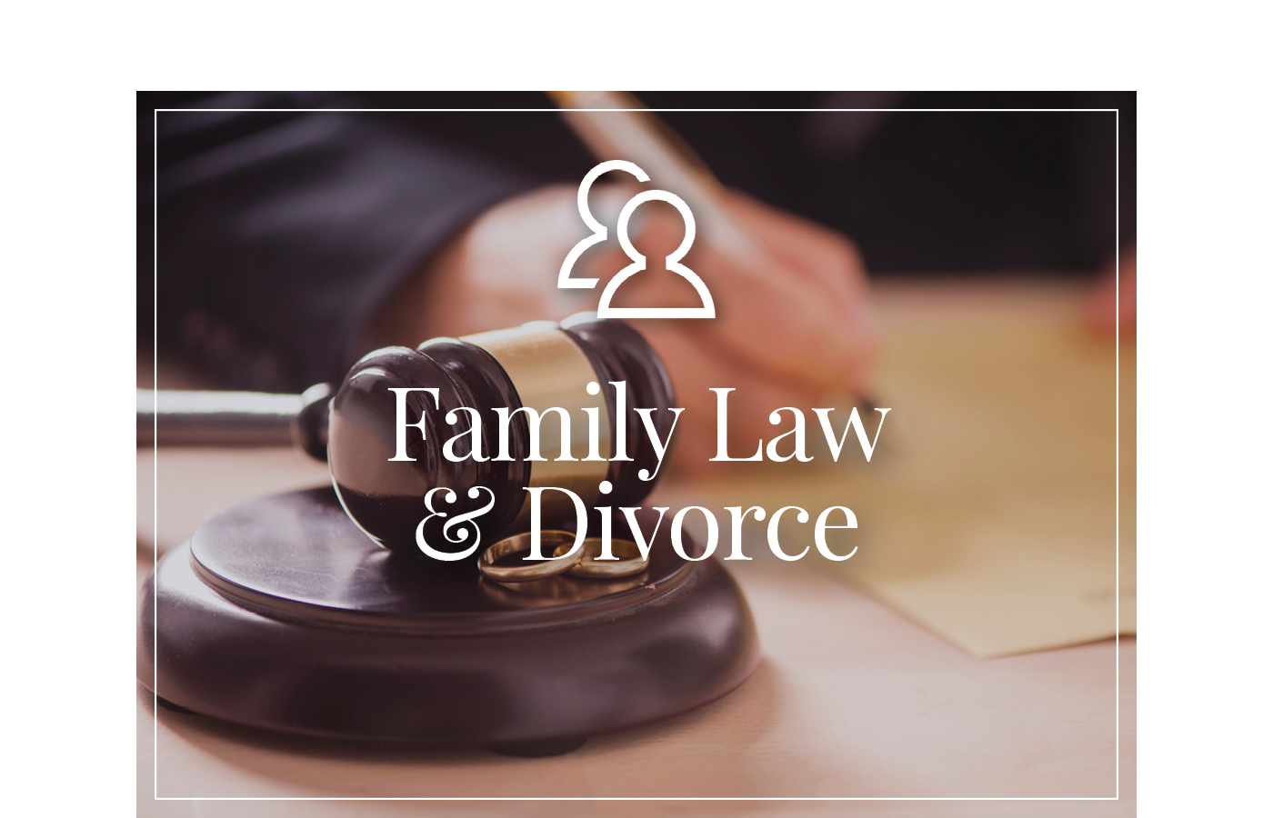 Family Law & Divorce Law services from David Saxe of Saxe Law.