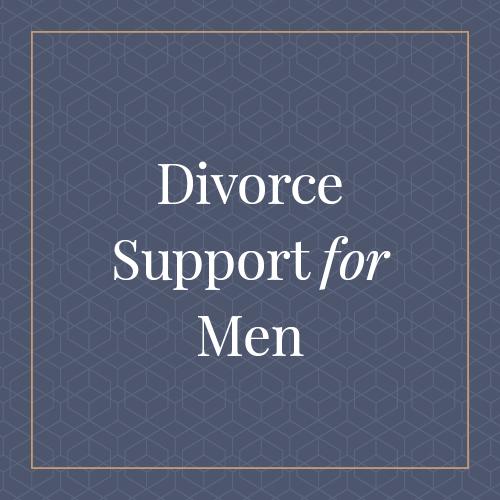 Divorce Support for Men