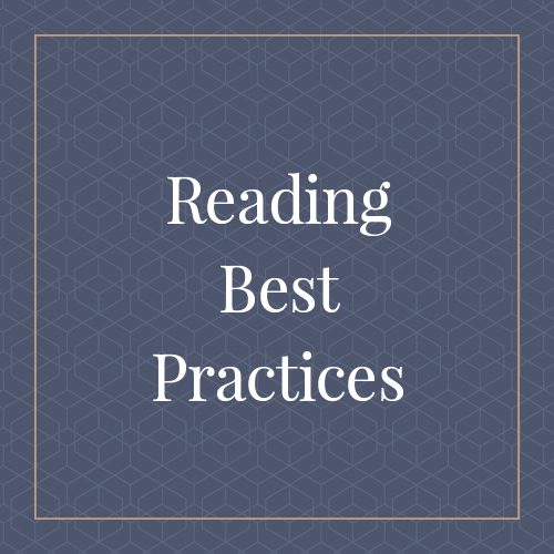 Reading Best Practices