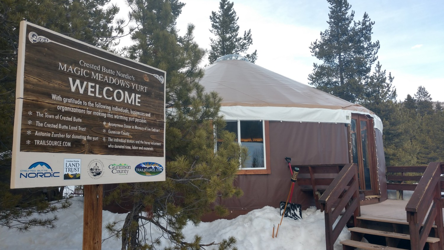 Magic Meadows Yurt, Crested Butte, CO