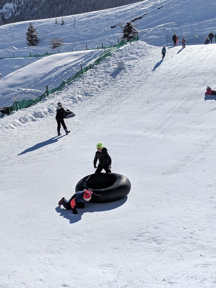 Free Sledding in Crested Butte, CO