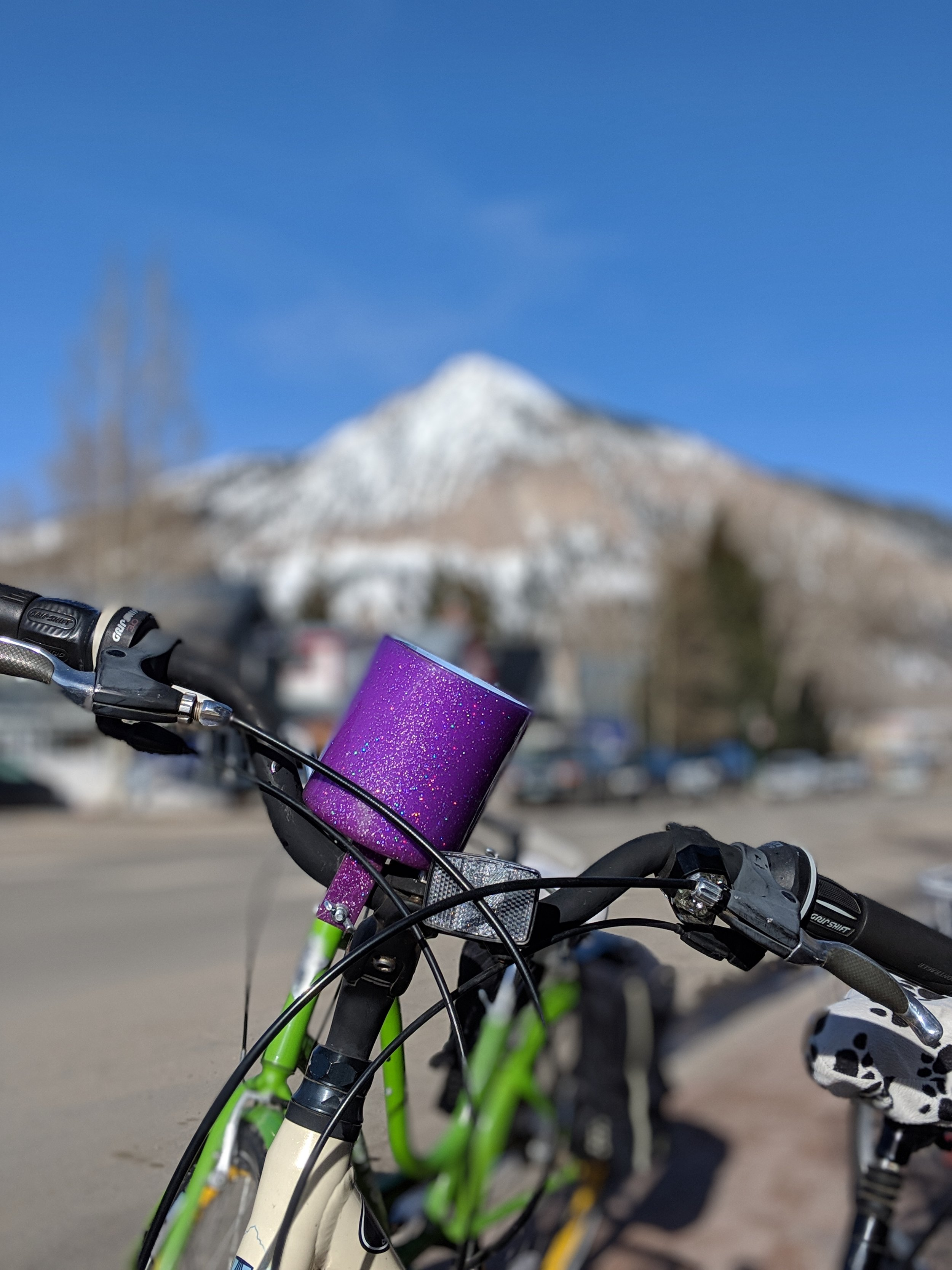 Townie rides in Crested Butte