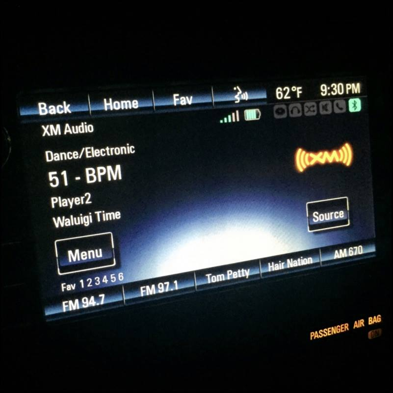 Waluigi Time Sirius XM BPM 2.jpg