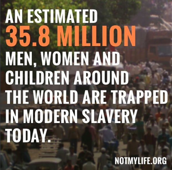 DOCUMENTARY I NOT MY LIFE - SLAVERY IN OUR TIME