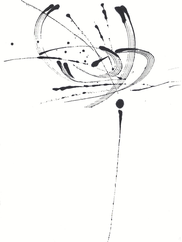 Tobie-Giddio_Original_Ink-Drawing_Space-Series_Space-flowers IIA.jpg