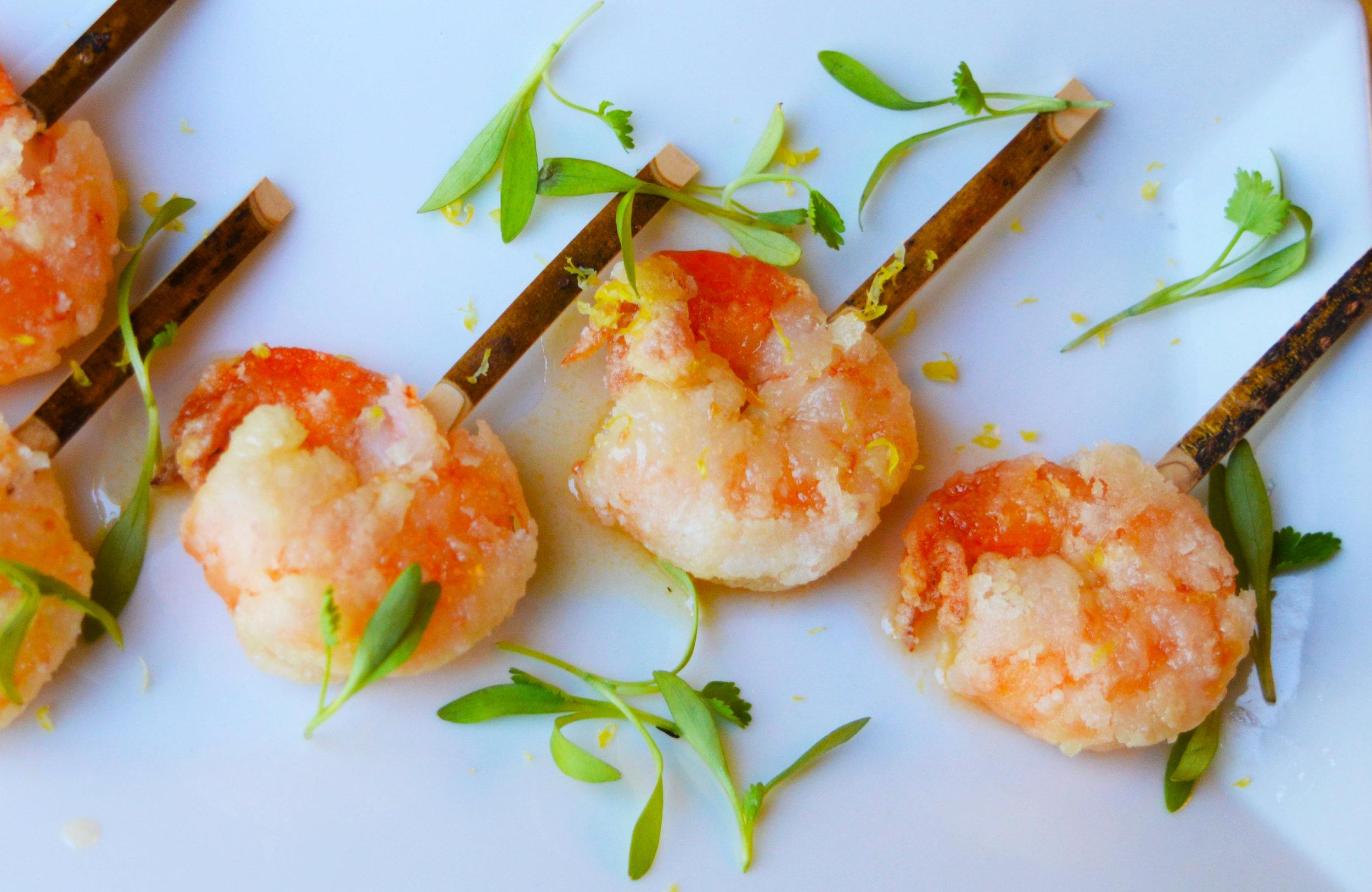 Crispy Shrimp Skewers