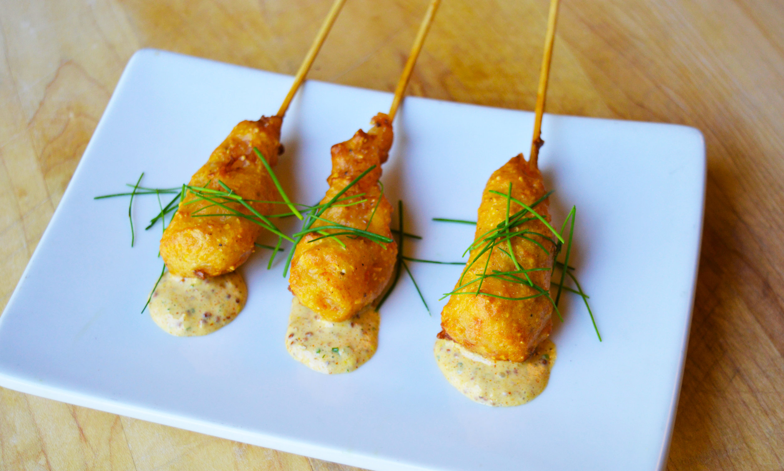 Prawn Corn Dog