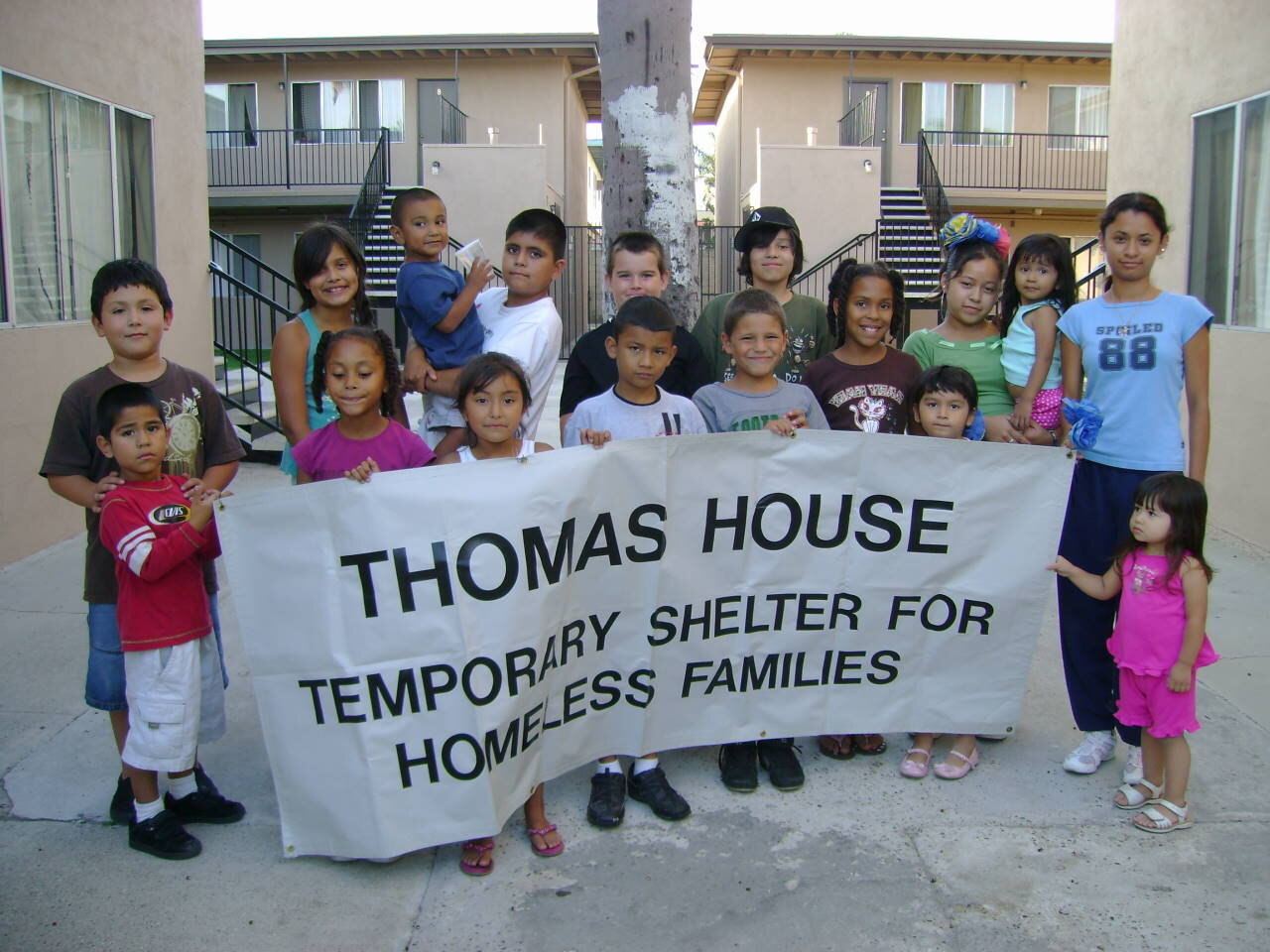 The mission of Thomas House is to provide a safe, supportive environment and the resources necessary for homeless families with children to remain together while empowering them to become independent and self-sufficient.