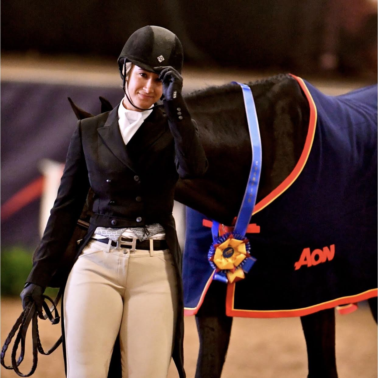 Aon is a proud supporter of events and companies in the equestrian industry. Photo © Alden Corrigan Media.