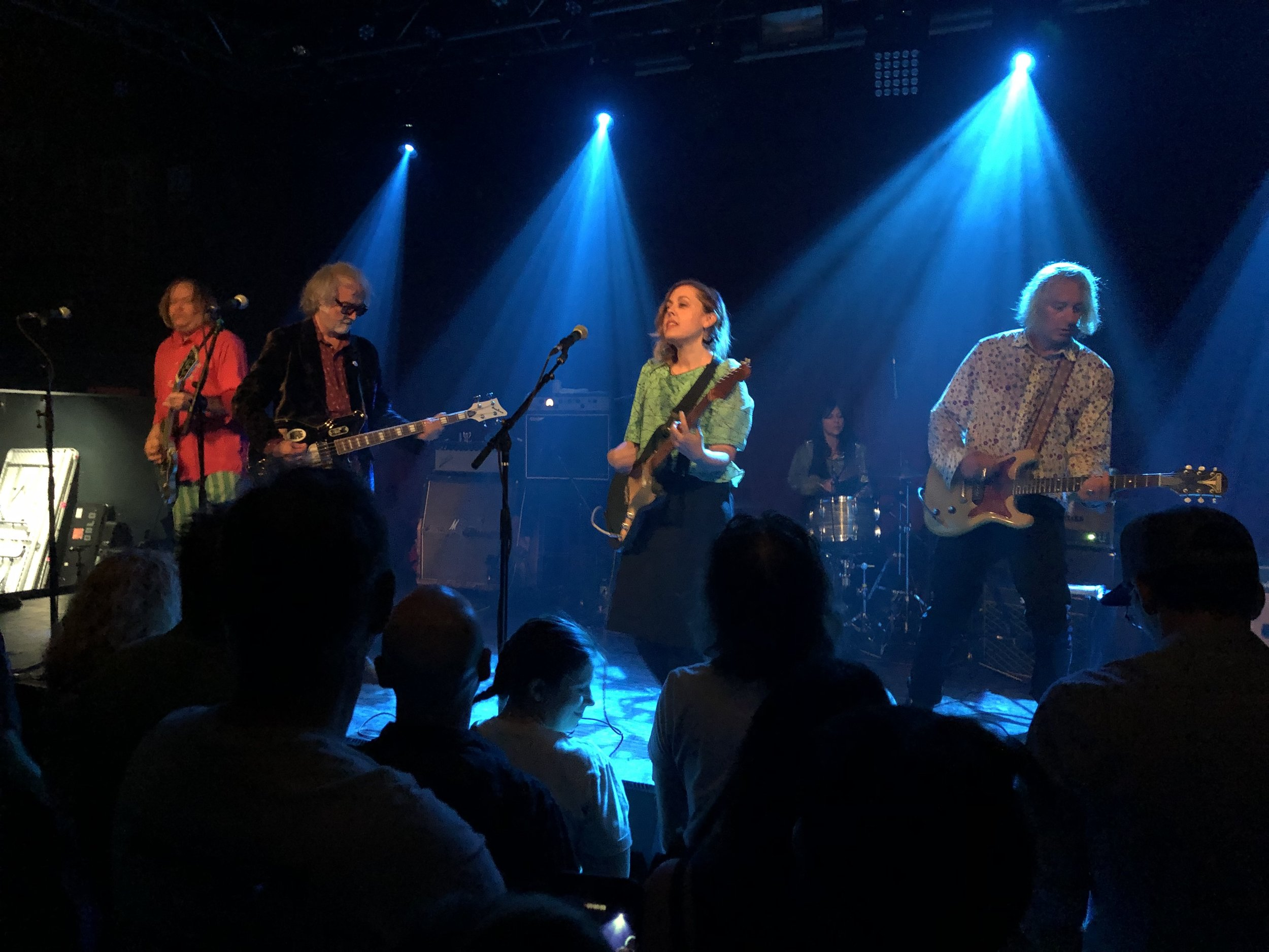 Filthy Friends (left to right) - Kurt Block, Scott McCaughey, Corin Tucker, Linda Pitmon, Peter Buck