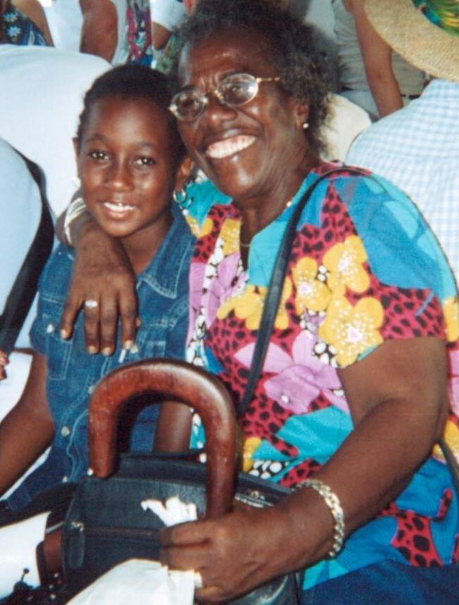 Tej and grandma