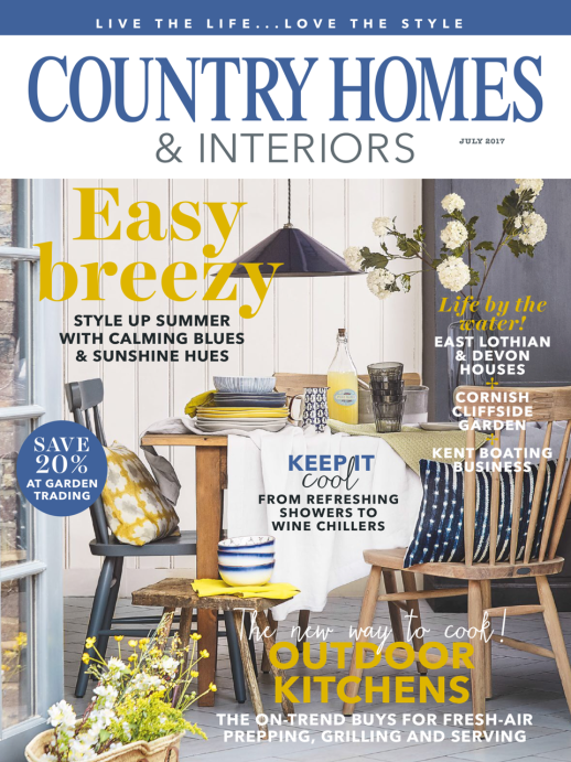 Country Homes & Interiors (UK) (July 2017)