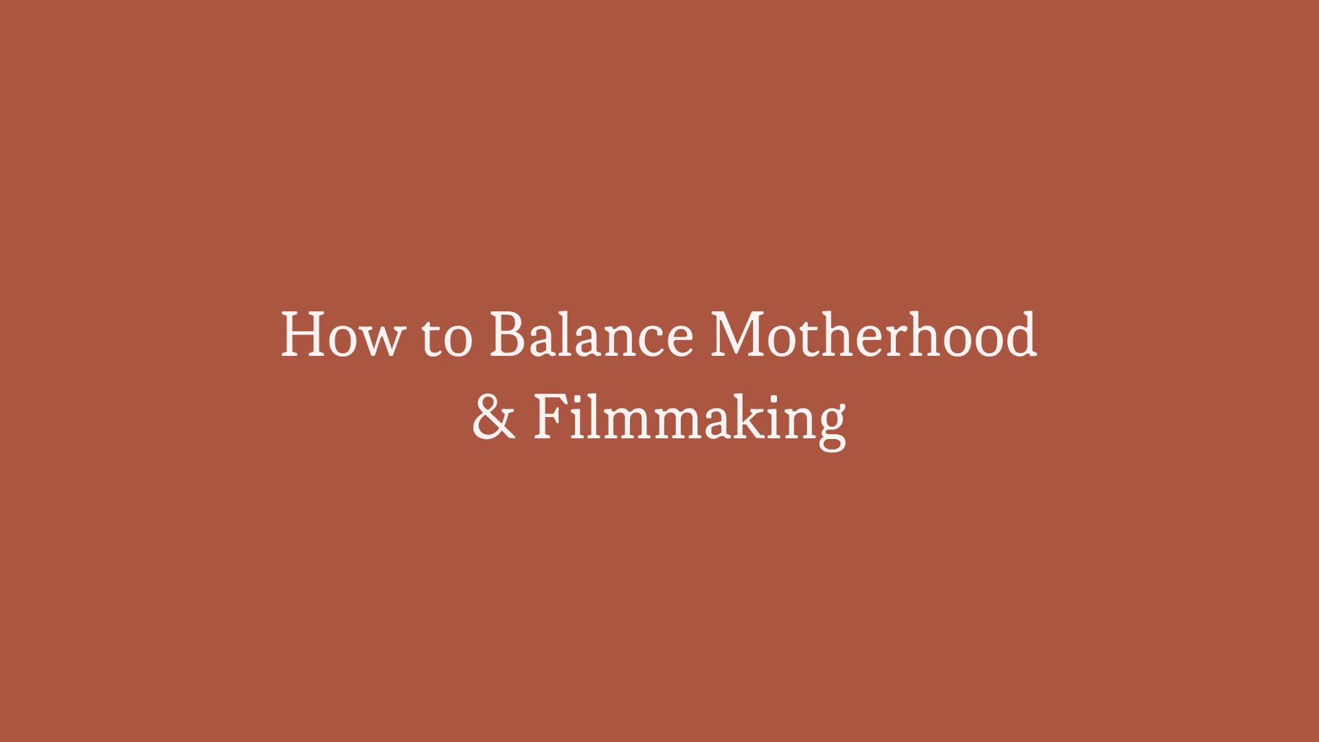 How to balance motherhood.png