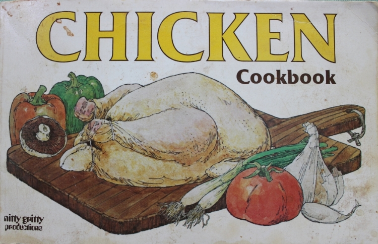My second cookbook by nitty gritty productions. Gotta love the '70s.