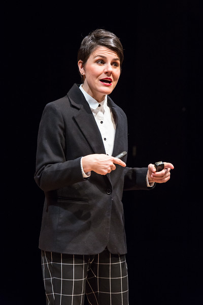 Lisa Kron  2.5 Minute Ride,   Profile Theater