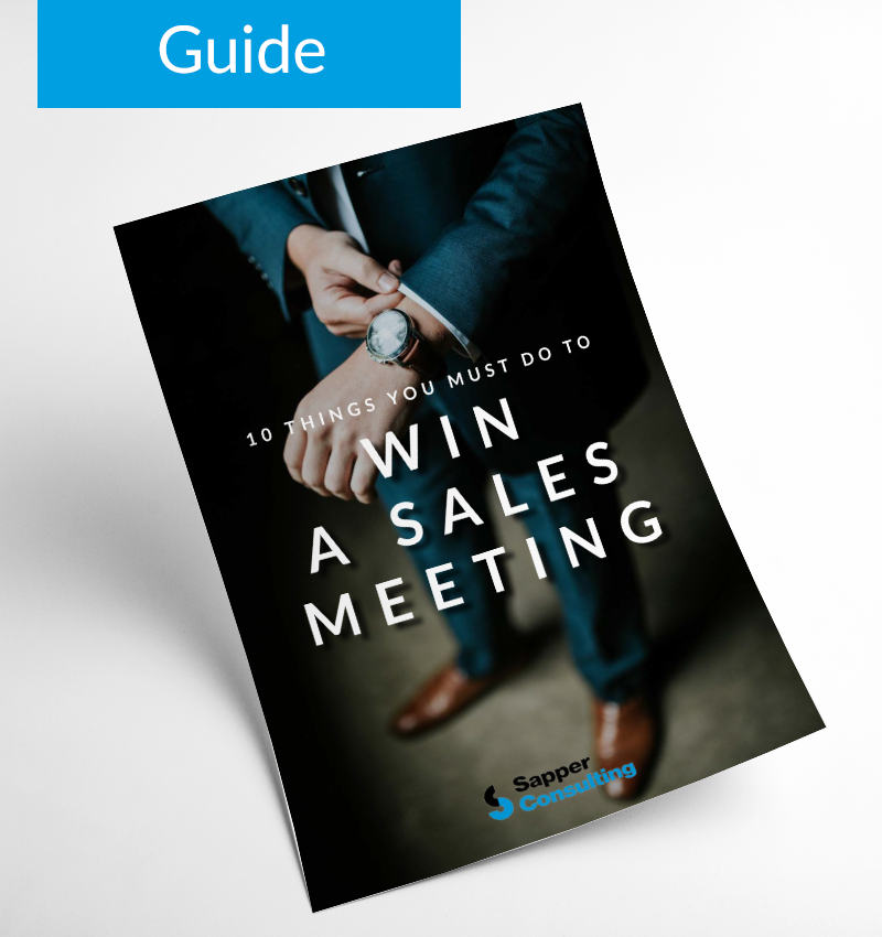 10 Things You Must Do To Win a Sales Meeting - Guide