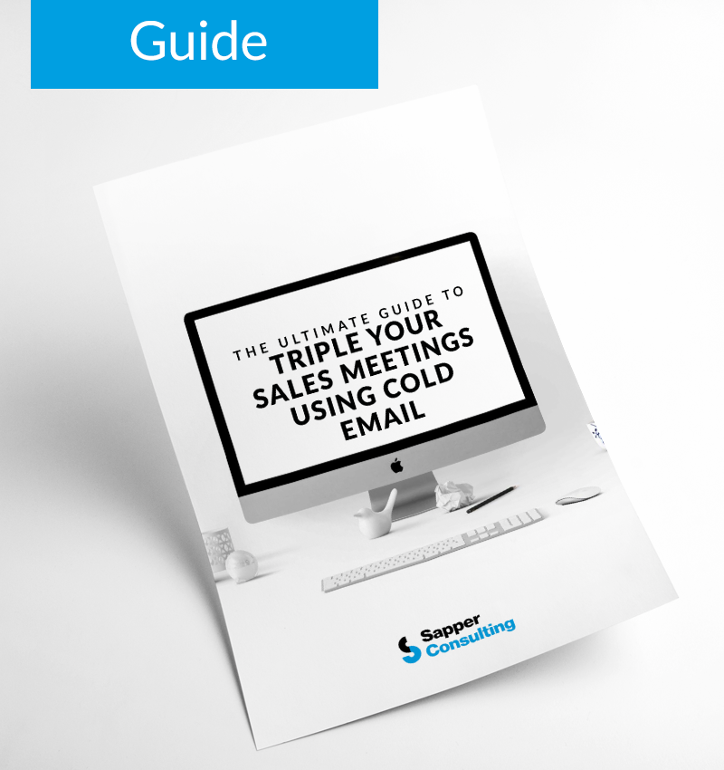 The Ultimate Guide to Triple Your Sales Meeting Using Cold Email - Guide