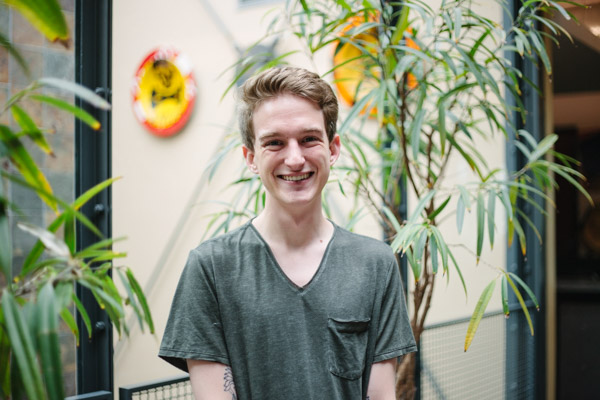 Max Nutter | Client Success Coordinator   Max worked at a pastry shop before coming to Sapper. In his spare time, he likes to read, watch movies, and spend time with his friends, family, and his cat.
