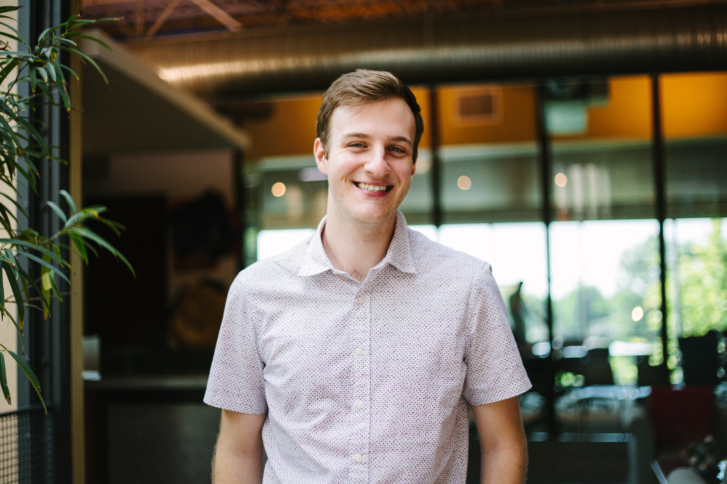 Jaron Rhoda | Executive Client Services Manager & Ream Lead   Jaron joined the Sapper team in February of 2017 and has loved working alongside his scrappy and innovative teammates in client services ever since. When Jaron is not at work, you can find him researching Oscar trivia, reading play scripts for fun, or stealing attention from his neighbor's cats.