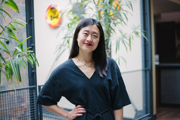 Tina Xiang | Executive Director of Content   Coming from the East Coast, Tina joined Sapper shortly after graduating from Washington University in St. Louis. She's also a published fiction writer, competitive youth climbing coach, and mother to a very good four-legged boy named Kai.