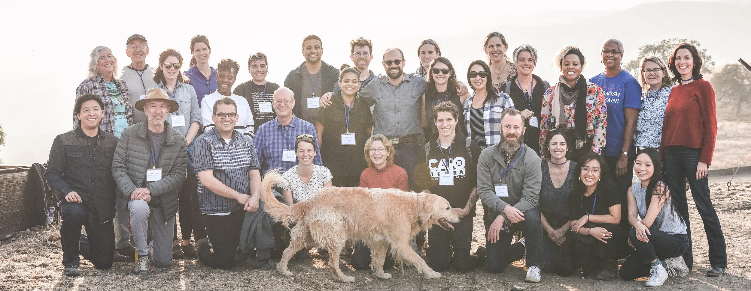 ICI 2018-19 Cohort - photo credit: Alicia Arcidiacono