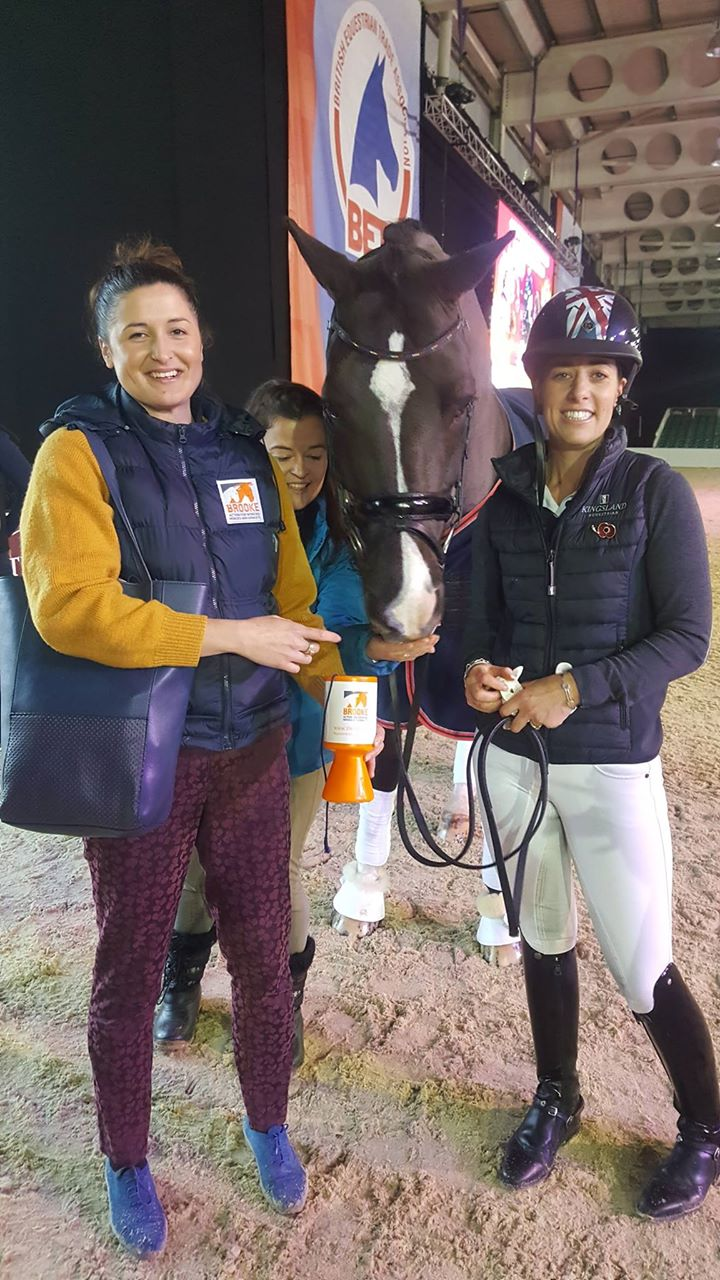 Working with global Brooke ambassador Charlotte Dujardin and Valegro