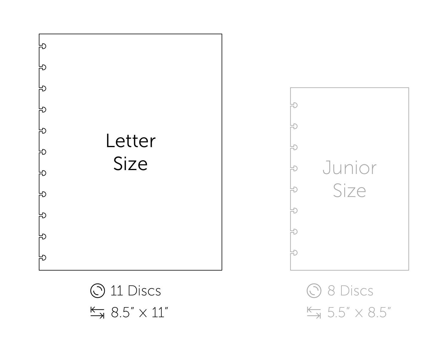 Letter Size Guide