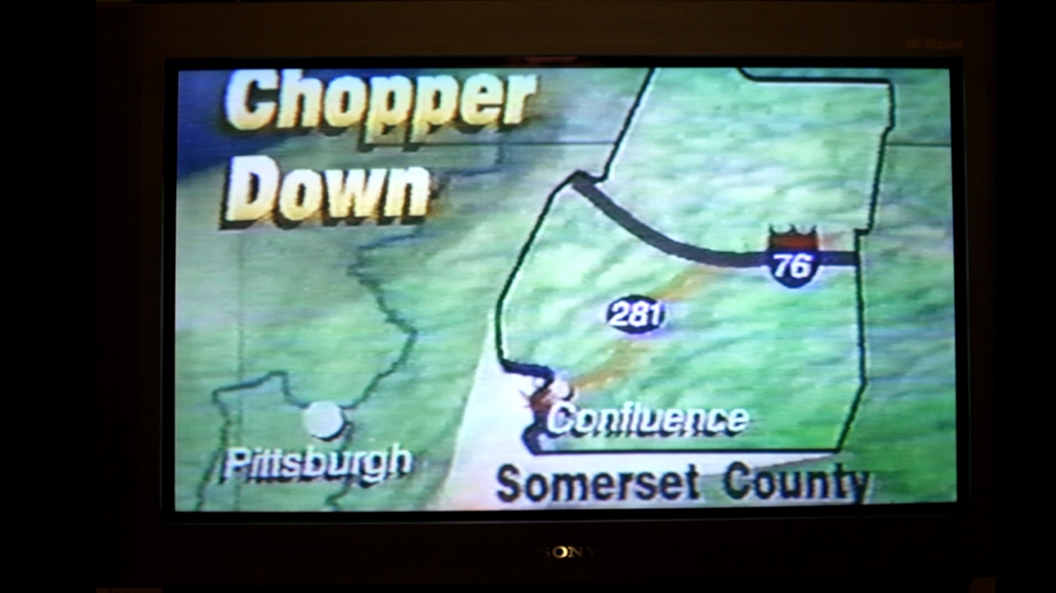 screenshot from a Pittsburgh news station