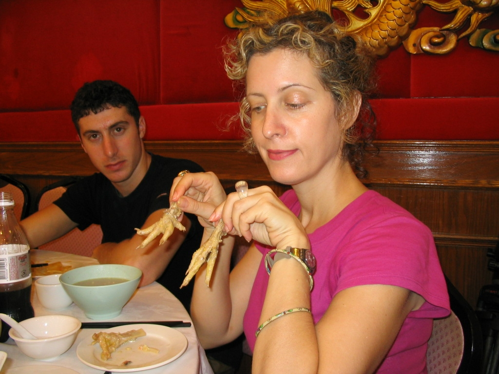 Sigal contemplates chicken feet