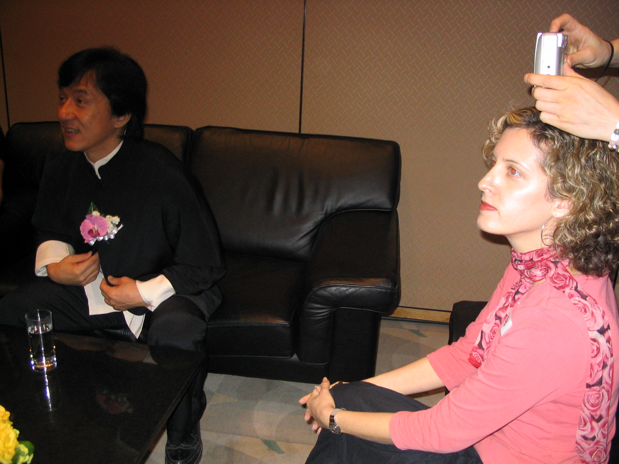 Sigal interviews Jackie Chan