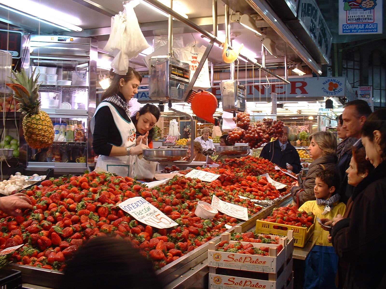 Mertcado Central, Valencia, Spain