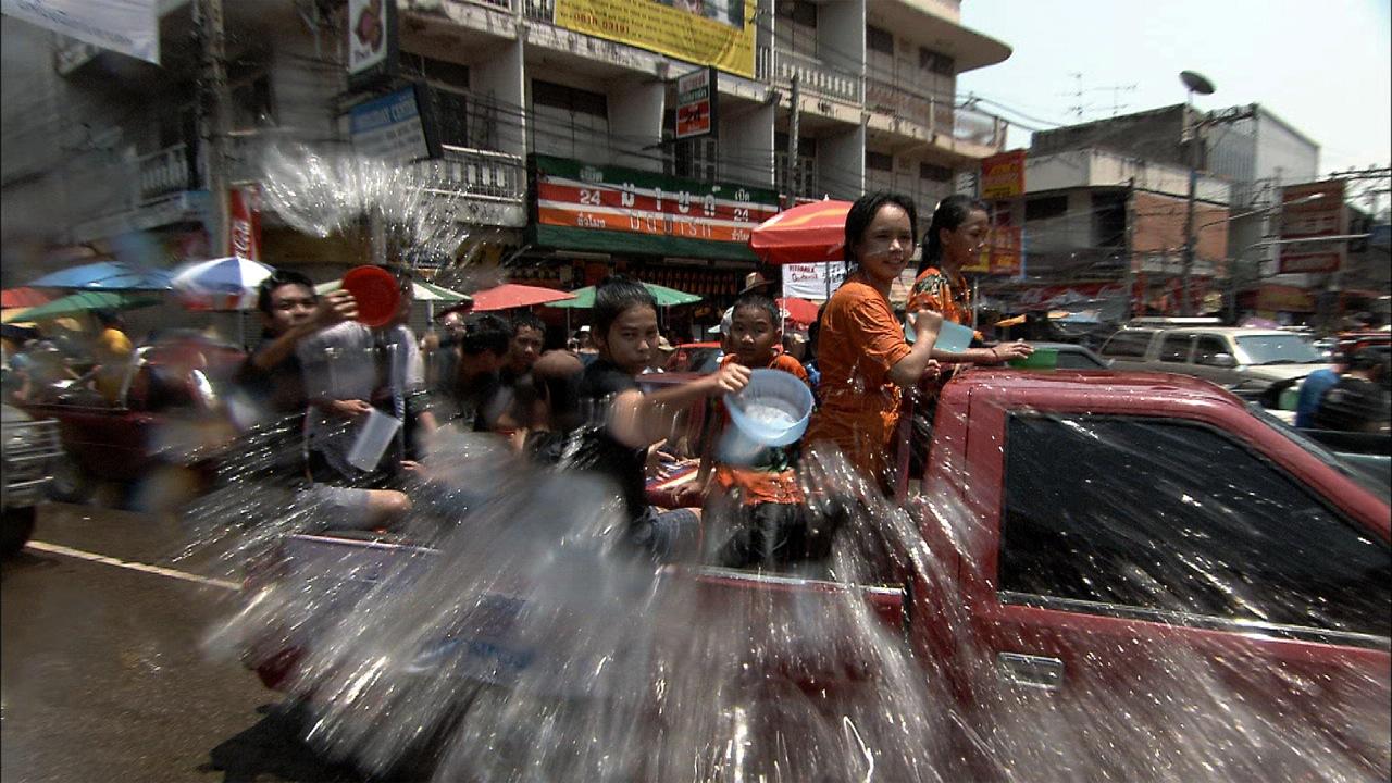 Songkran Festivities, Chiang Mai, Thailand