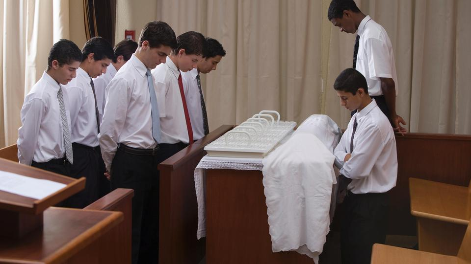Blessing the Sacrament - Most LDS Young men are terrified they will say the blessing wrong or that they are not worthy enough.