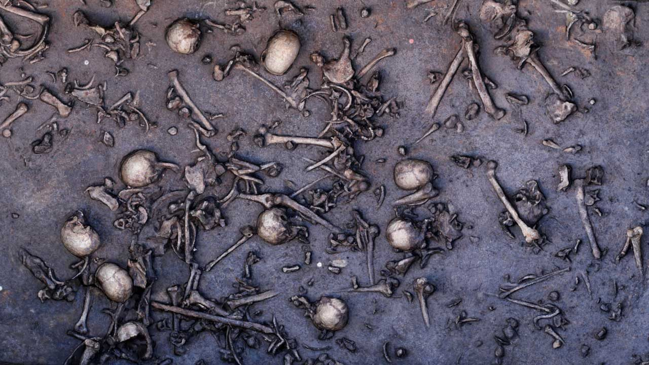 3,200 years ago - two armies in the Baltic clashed and left behind lots of evidence for us to find, and the battle here was much smaller than many of those recorded in The Book of Mormon. The only logical explanation for never finding any supporting evidence of the Nephite battles is that they never happened.