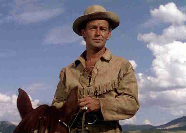 Shane - Staring Alan Ladd, one of the best movies ever made. Shane, Alan Ladd, is a gunfighter who rides into a small Wyoming town and realizes the homesteaders need his help. Seriously, you should watch it.