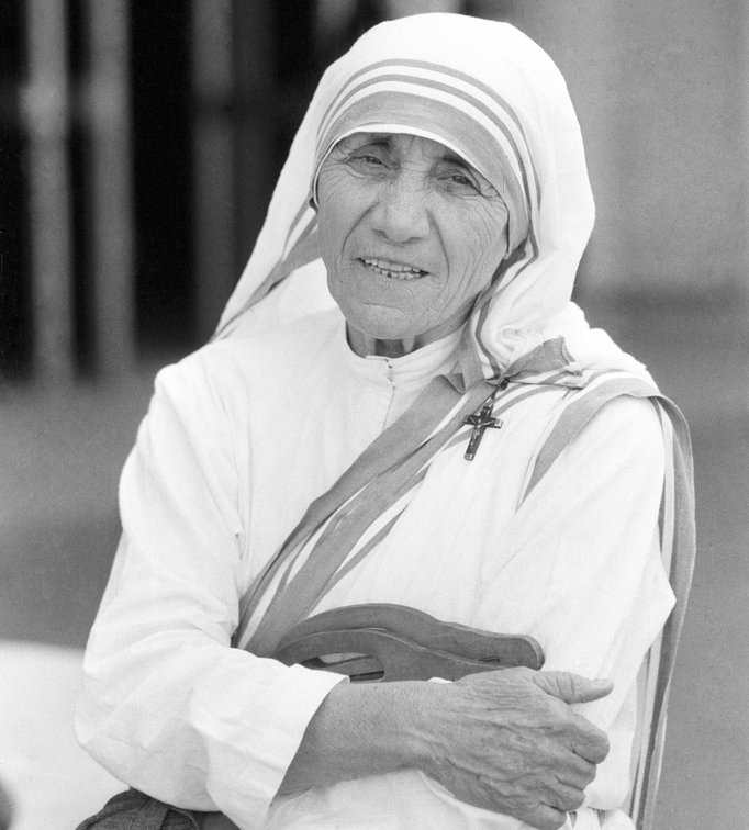 """""""There is such terrible darkness within me, as if everything were dead,"""" - -Mother Teresa of Calcutta"""