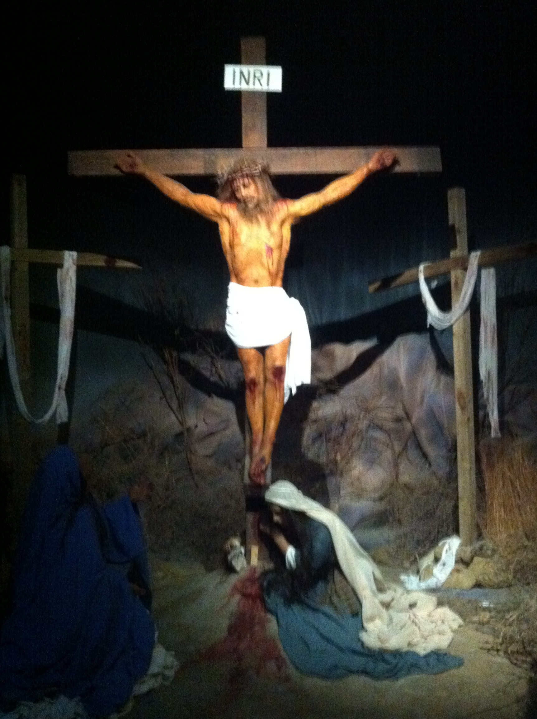 The Cross - If going to the cross so I could have forgiveness, salvation and a relationship with God was all Jesus ever did for me it would be more than I deserve, much more, yet he did not stop there.