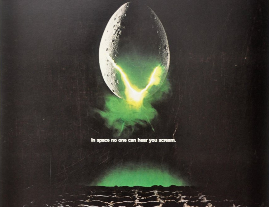 Original poster for the 1979 movie Alien
