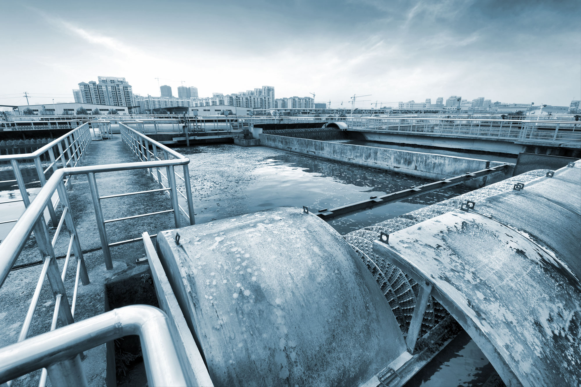 The security of our water and waste-water treatment facilities is a priority.