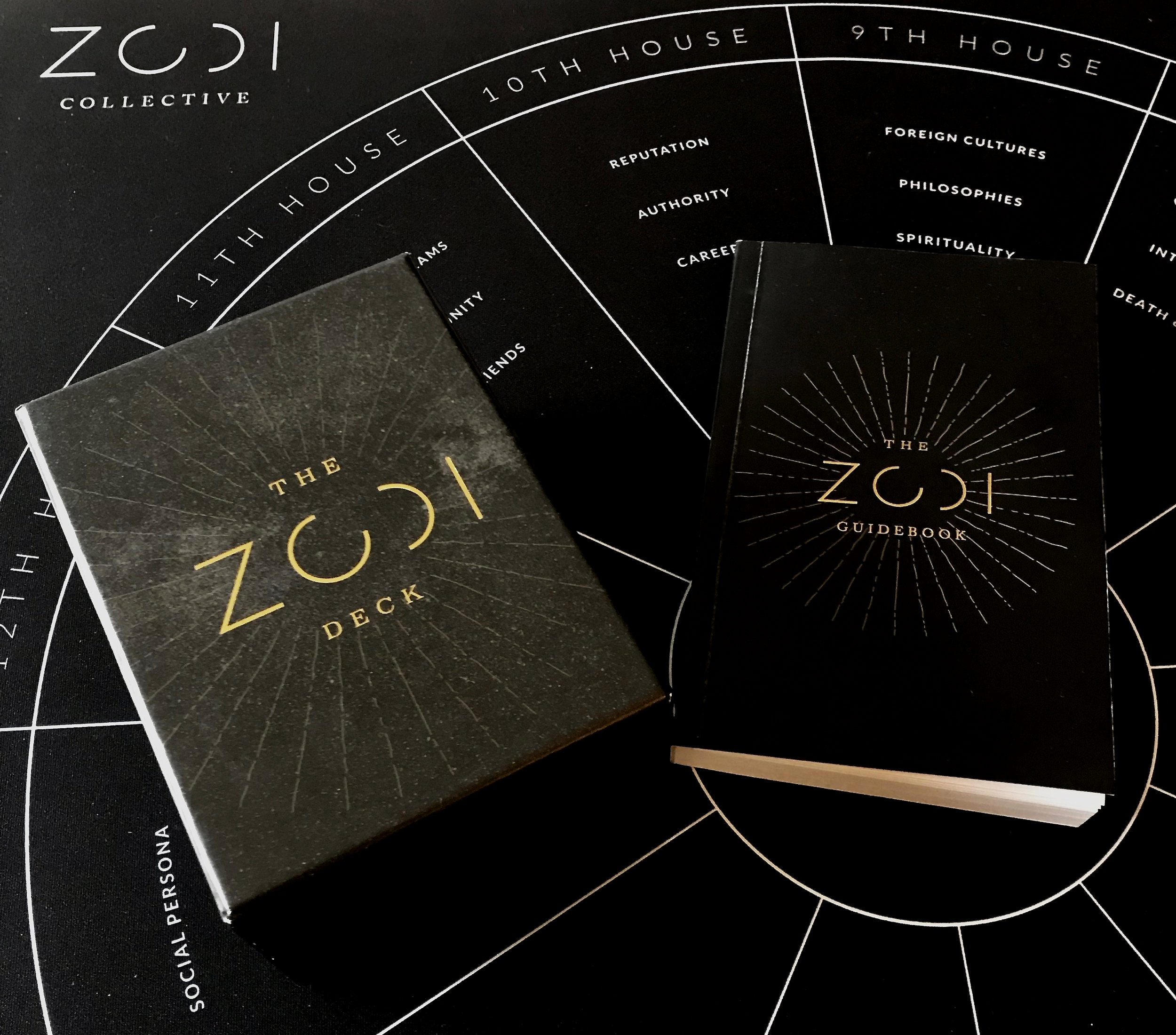 ZODI Astrology Deck and Guidebook